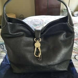 Dooney and Bourke Logo lock hobo